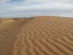 sable profilé par le vent