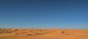 Vue sur les dunes depuis Bir Soltane