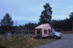 Bivouac tout au nord de la Finlande.