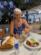 Premier repas grec.