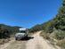 Sur la piste entre Plati et Mouzaki.